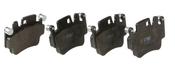 Porsche Brake Pad Set - TRW 99735194802