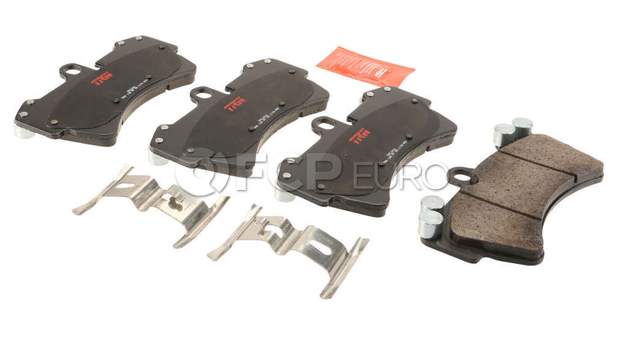 Audi VW Brake Pad Set - TRW 7L0698151P