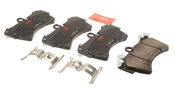 Audi VW Brake Pad Set - TRW 7L0698151R
