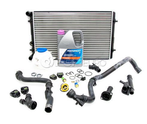 VW Cooling System Kit - Nissens KIT-1J0121253ADKT10