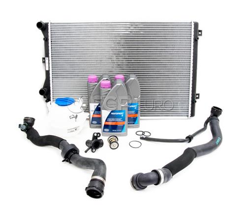 VW Cooling System Kit - Nissens KIT-1K0198251CSKT4