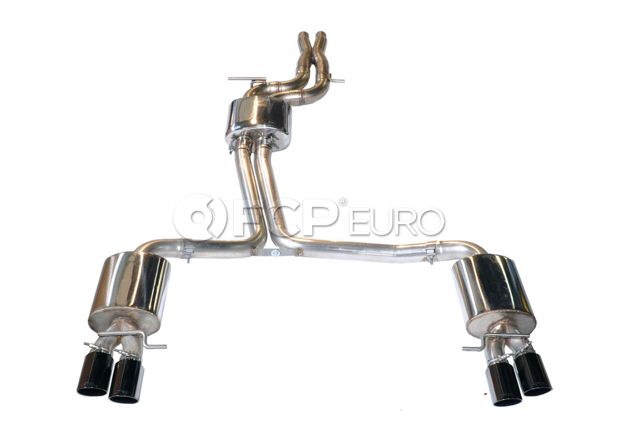 Audi Catback Exhaust System - AWE Tuning 3015-42028