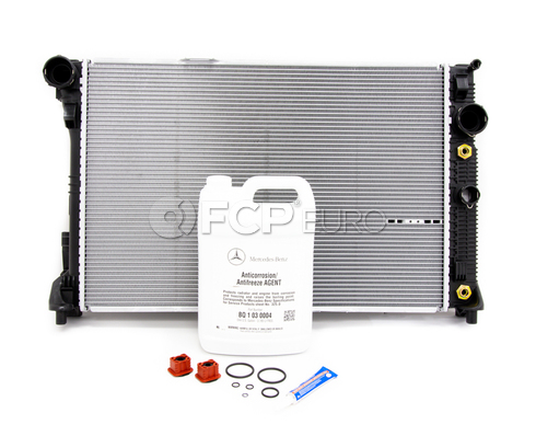 Mercedes Radiator Replacement Kit - Nissens 2045003003