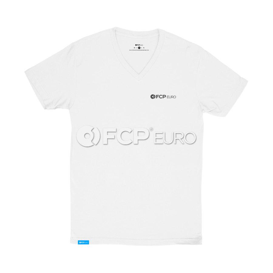 Men's V-Neck T-Shirt (White) 2XL - FCP Euro 577248