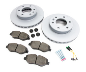Mercedes Brake Kit - Zimmermann 9064210012