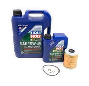 BMW Oil Change Kit 10W-60 - Liqui Moly 11427833769KT2