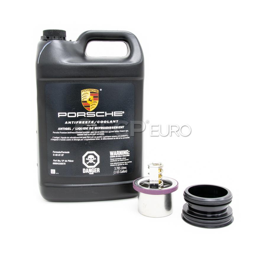 Porsche Engine Coolant Thermostat Kit - Mahle/OEM/Genuine THD289KT