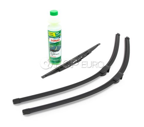 Porsche Windshield Wiper Blade Kit - Bosch/Sonax 3397009034KT