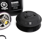 Porsche Engine Water Pump and Thermostat Kit - Geba/Mahle/Genuine 955COOLKT