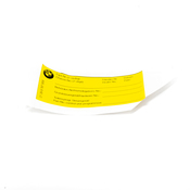 BMW Stick-On Label (DeEn 12 Stck) - Genuine BMW 01399787959