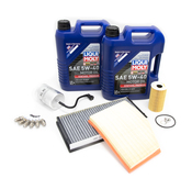 Porsche Tune Up Kit - Mahle/Mann PORTUNEKIT1