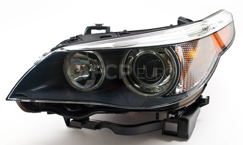 BMW Bi-Xenon Headlight Assembly Left (E60 E61) - Hella 63127160197