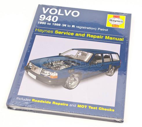 Volvo Haynes Repair Manual (940) Haynes 3249