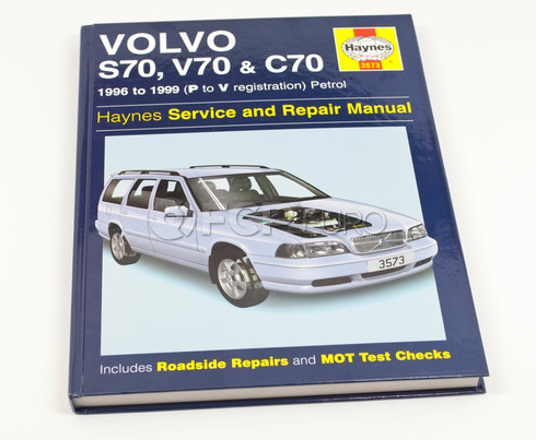 Volvo Haynes Repair Manual (V70 C70 S70) Haynes 3573