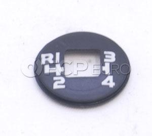 Volvo Manual Trans Shift Knob Cap - Pro Parts 1232682