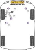 Porsche Subframe Bushing Set - Powerflex PFF85-1605