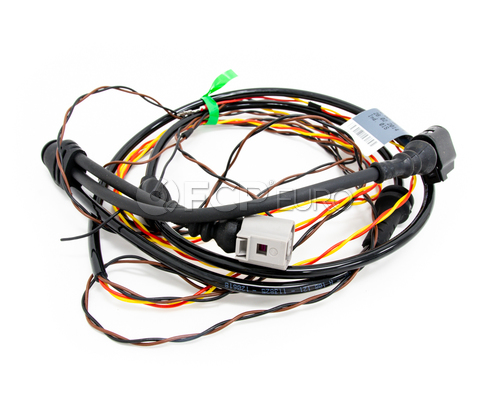 Audi ABS Wheel Sd Sensor Wire Harness - Genuine VW Audi 4G0972251E Abs Wiring Harness on