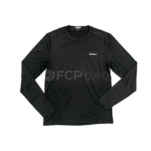 Men's Long Sleeve Shirt (Black) Small - FCP Euro 577908