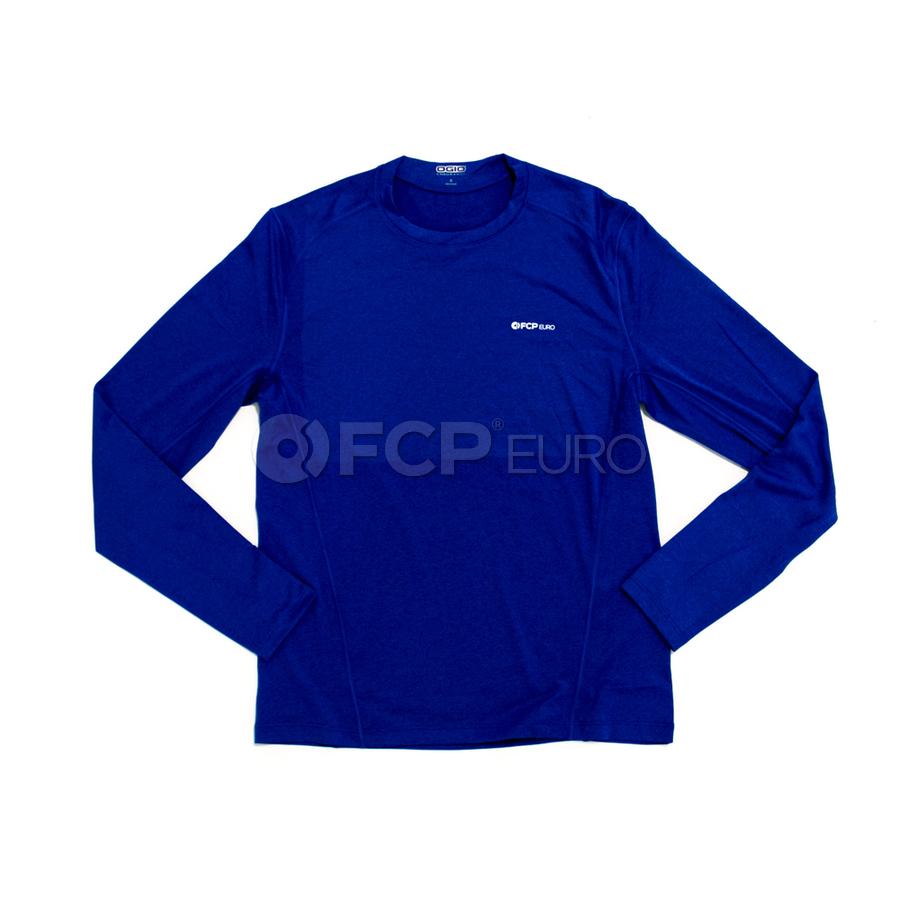 Men's Long Sleeve Shirt (Blue) Small - FCP Euro 577912