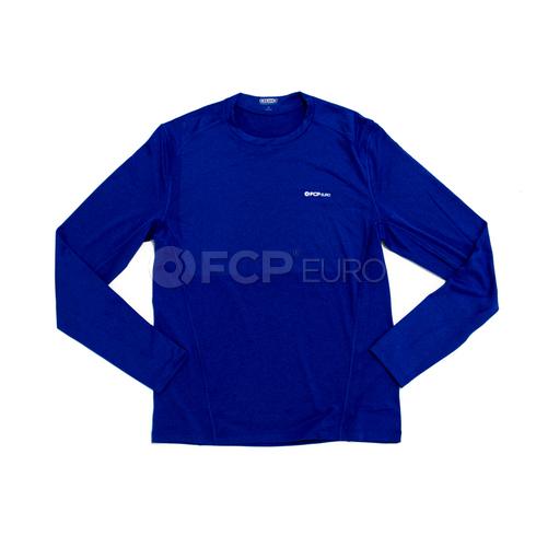 Men's Long Sleeve Shirt (Blue) Medium - FCP Euro 577913