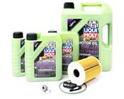 Porsche Engine Oil Change Kit (5W-40) - Liqui Moly/Mahle 95BOILKT