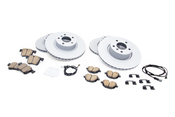 BMW Brake Kit - Zimmermann/Akebono 34106879122KTFR