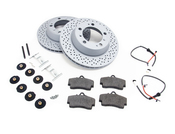 Porsche Brake Kit - Zimmermann/Textar 986BRKT