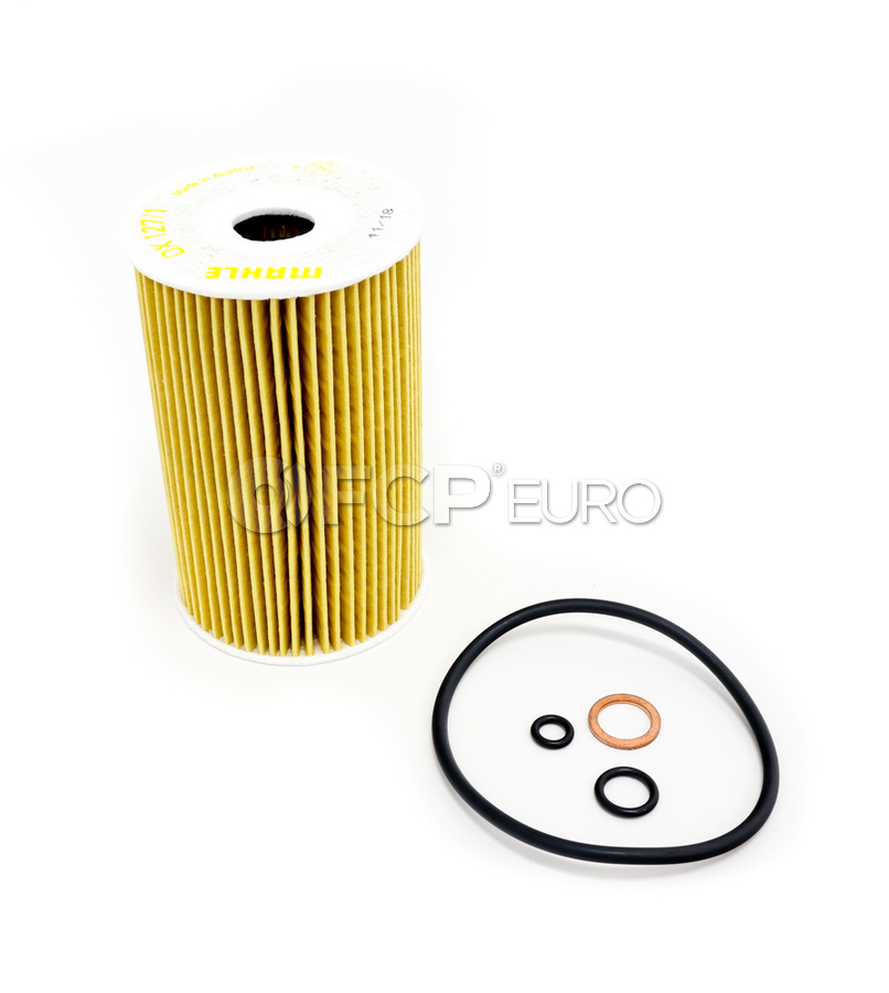 BMW Engine Oil Filter Kit - Mahle OX1271D