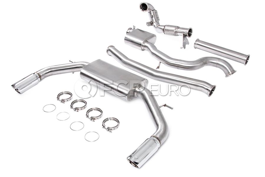 """Audi Performance 3"""" Turbo-Back Exhaust System - Unitronic UH029EXA"""