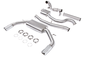 "Audi Performance 3"" Turbo-Back Exhaust System - Unitronic UH029EXA"