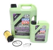 Porsche Engine Oil Change Kit (5W40) - Liqui Moly/Hengst 718OILKIT