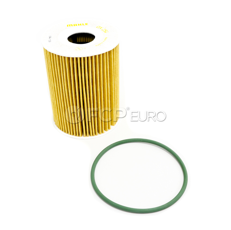 Porsche Engine Oil Filter Kit Mahle Ox254d4eco
