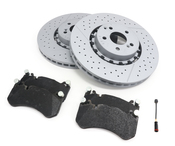 Mercedes Brake Kit - Zimmermann 2124210512