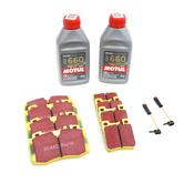 Mercedes Brake Pad Upgrade Kit - EBC Yellowstuff 0034205820