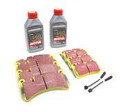 Mercedes Brake Pad Upgrade Kit - EBC Yellowstuff 0044205020