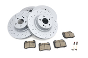 Mercedes Brake Kit - Akebono 2204211112