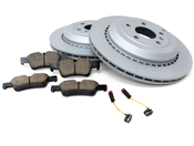 Mercedes Brake Kit - Akebono 1644230612
