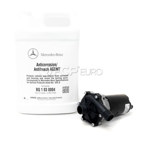 Mercedes Intercooler Pump Kit with Coolant - Bosch 0392022010KT