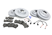 Audi VW Brake Kit - Zimmermann/Pagid 7L8615301KT2