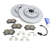 Audi VW Brake Kit - Zimmermann/Akebono 8K0615601BKT2