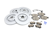 Audi VW Brake Kit - Zimmermann/Akebono 4H0615301ANKT3