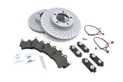 Porsche Brake Kit - Zimmermann/Textar 987BRKT1
