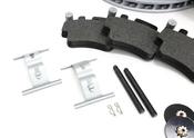 Porsche Brake Kit - Zimmermann/Textar 996BRKT5