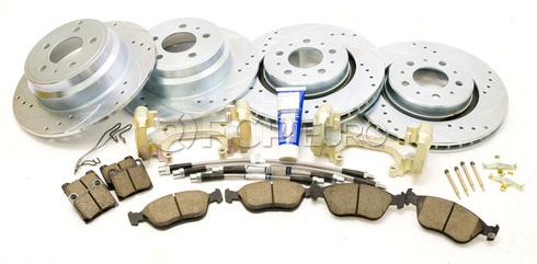 Volvo Big Brake Upgrade Kit 302MM (850 C70 S70 V70) - Zimmermann 850ULTKIT302