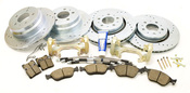 Volvo Big Brake Upgrade Kit 302MM - Zimmermann 850ULTKIT302