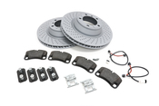 Porsche Brake Kit - Zimmermann/TRW 997BRKT17
