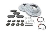 Porsche Brake Kit - Zimmermann/Textar 997BRKT11