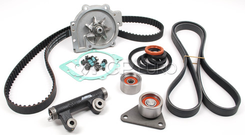 Volvo Timing Belt and Water Pump Kit (OEM Parts) TBKIT217WP-OEM