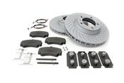 Porsche Brake Kit - Zimmermann/Textar 997BRKT2