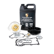 Porsche Engine Water Pump and Thermostat Kit - Graf/Elring/Genuine 955COOLKT1